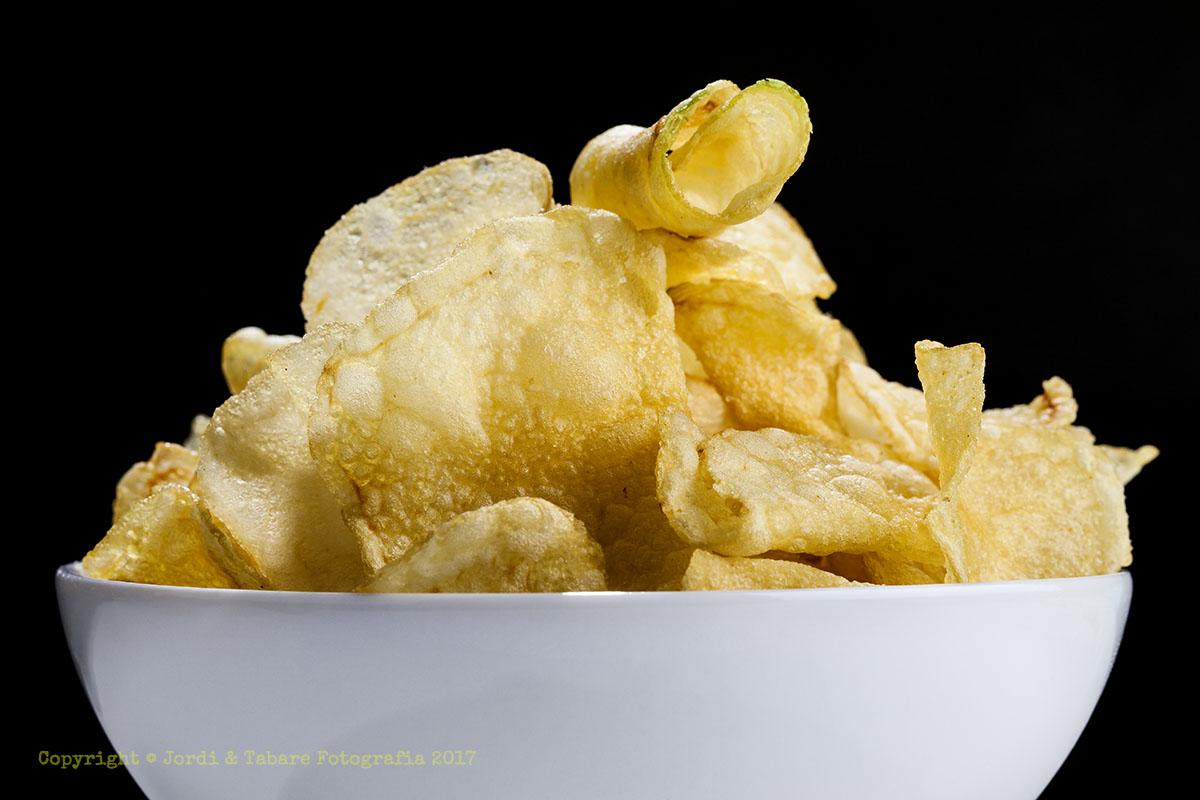 Bol amb patates fregides