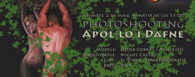 Shooting Apollo and Daphne